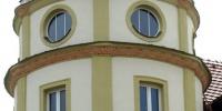 Nová fasáda sportovně-relaxačního centra v Pelhřimově